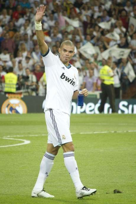 Pepe Real Madrid Supercopa