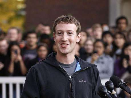 <strong>1 - Mark Zuckerberg -</strong> CEO de Facebook (US$ 498,8 millones)<br />