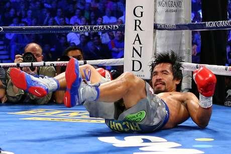 Pacman perdió de forma estrepitosa ante el mexicano Juan Manuel Márquez el pasado 8 de diciembre.