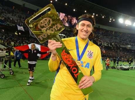 Herói do título mundial do Corinthians, Cássio apareceu no top 10 da IFFHS