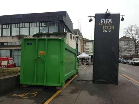 Fifa ainda prepara o local que receberá a cerimônia da Bola de Ouro