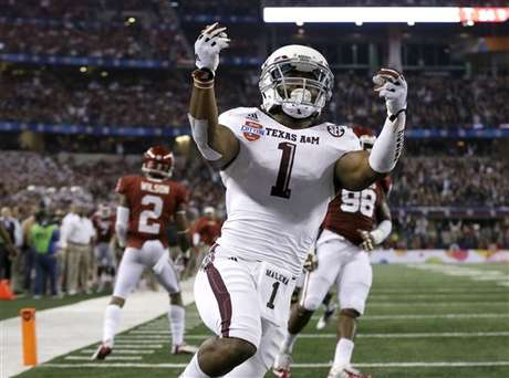 Texas A&M thoroughly dominated Oklahoma in the Cotton Bowl.