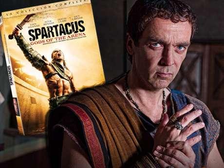 La temporada completa de 'Spartacus: Dioses de la Arena', ahora disponible en DVD.