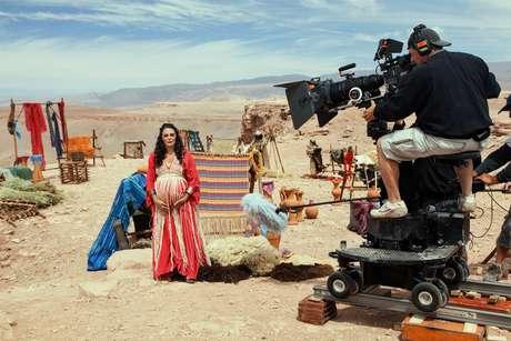 Para aproximar José do Egito da terra das Esfinges e recriar o clima de 1700 antes de Cristo, cerca de 80 profissionais da Record, entre atores e equipe técnica, foram para o Chile gravar no Deserto do Atacama