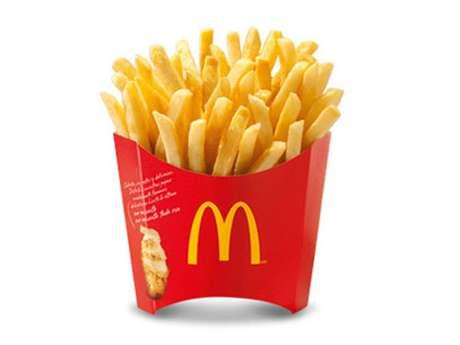 De acordo com o McDonald's do Canadá, as batatas não estragam porque não contêm umidade