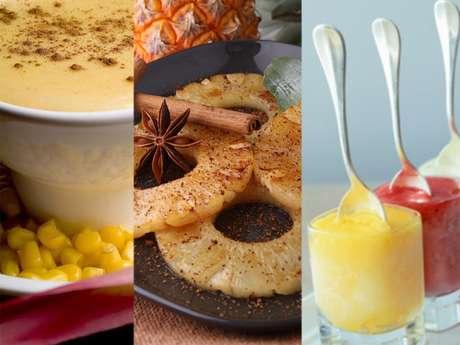 Receitas de sobremesas caribenhas levam, principalmente, milho, canela e frutas frescas<br />