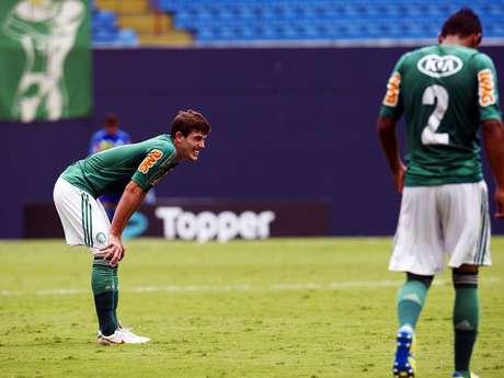 Palmeiras vacila e fica no 0 a 0 com o Sertãozinho pela Copa São Paulo de Futebol Júnior 2013
