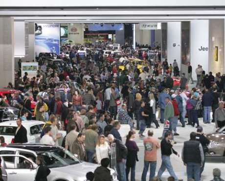 Foto Auto Show de Detroit