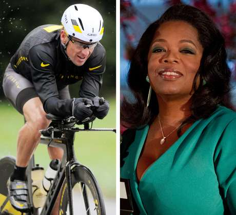 """Segundo Oprah, Armstrong comentará as """"acusações de anos de mentira"""" sobre o uso de doping"""