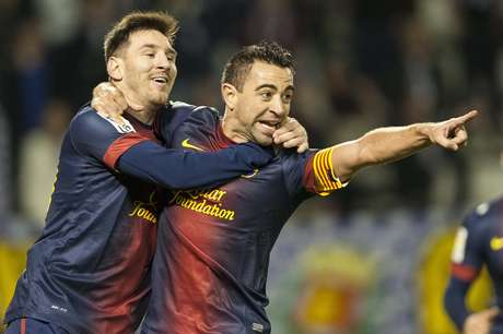 Barcelona de Messi e Xavi é o melhor clube de 2012, segundo a IFFHS