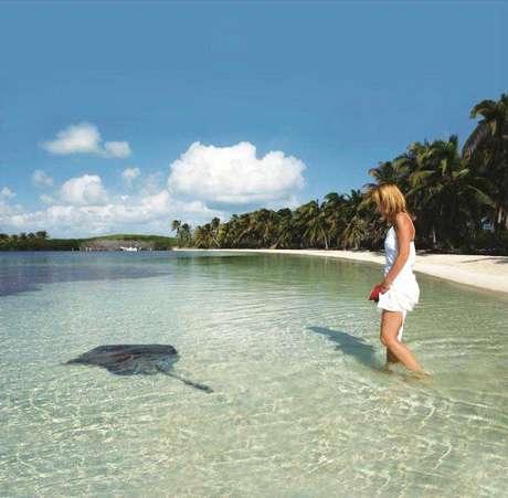 Águas cristalinas são lugar comum em Cancun, assim como a rica fauna marinha<br />