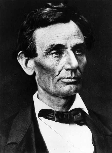 Lincoln (1809-1865) foi presidente dos Estados Unidos de 1861 a 1865