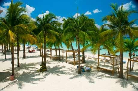 Depois de um dia cheio, é comum tirar uma soneca, debaixo de um coqueiro da Playa Norte