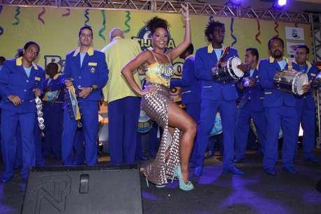 O evento Bacalhau do Pavão 2013 é promovido pela escola de samba Unidos da Tijuca