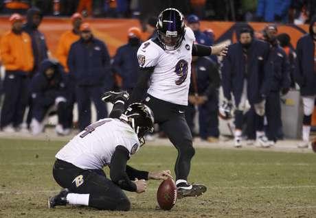 Com um field goal de 47 jardas de Justin Tucker, Ravens garantiram a vaga na final da Conferência Americana