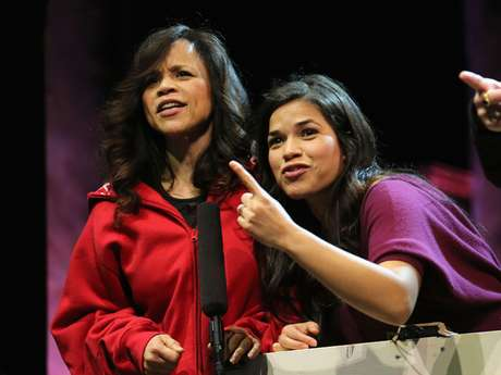 Are Rosie Perez and America Ferrera stark raving mad?