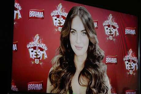 A atriz estará no camarote da marca, no Carnaval carioca