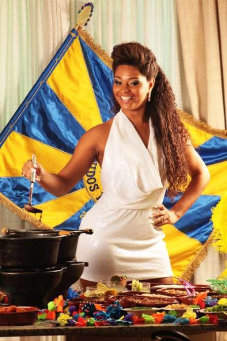 A atriz Juliana Alves participará de um evento com a Unidos da Tijuca