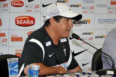 <p>Muricy Ramalho &nbsp;faz mudan&ccedil;as no Santos</p>