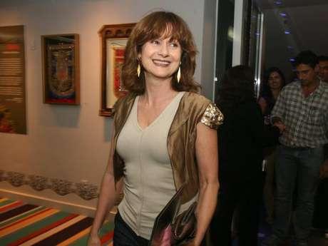Na segunda-feira (14), Nelson Lopes teve infarto após receber bronca da atriz (foto)