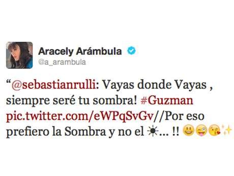 Aracely Arámbula envía indirecta a Luis Miguel en Twitter