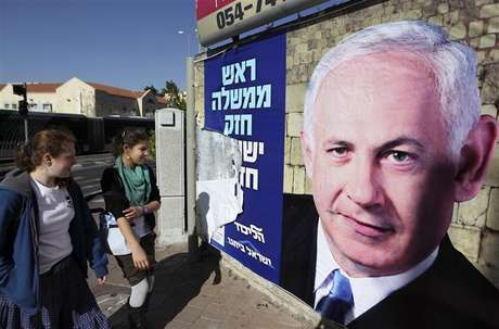 Pesquisas mostram que primeiro-ministro israelense Benjamin Netanyahu deve ser reeleito