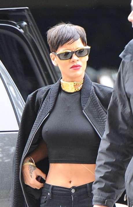 """""""Presentar en la Semana de la Moda de Londres es un sueño hecho realidad. Mostrar mi colección para River Island y hacerlo junto a todo el talento que se reúne en Londres es un privilegio"""", dijo Rihanna, de 24 años.<br />"""