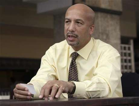 Ray Nagin, Mayor of New Orleans, talks during an interview in Havana October 20, 2009.