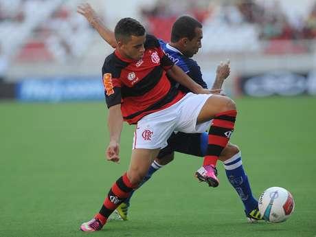 Ainda em coletiva, técnico do Flamengo criticou expulsão de Ramon no duelo com o Quissamã