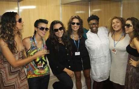 Liah Soares, Maria Cristina, Ellen Oléria, Luana Mallet e Alma Thomas são convidadas de Ana Carolina