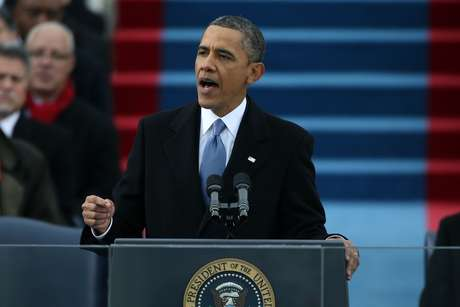 President Barack Obama marked the start of his second term with an inaugural speech at the U.S. Capitol.