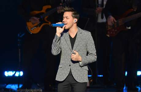 Bachata pop heartthrob Prince Royce performs at Eva Longoria'sLatino Inaugural 2013 at The Kennedy Center on January 20 in Washington, DC.