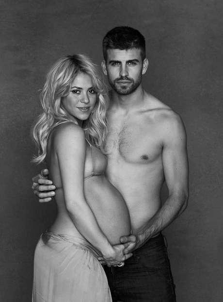Shakira y Piqué ya son padres.