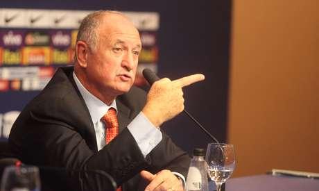 Luiz Felipe Scolari recusou comentar sobre jogadores que ficaram fora da lista de convocação