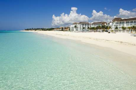 Cidade de Playa del Carmen é um dos destinos mais sossegados do Caribe mexicano