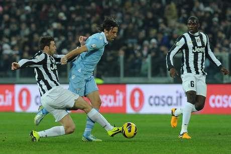 Jogando em Turim, pelas semifinais da competição, a equipe de Roma empatou com a Juventus por 1 a 1, graças a um gol marcado no fim do duelo