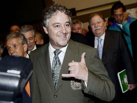 Paulo Nobre foi eleito novo presidente do Palmeiras na última segunda