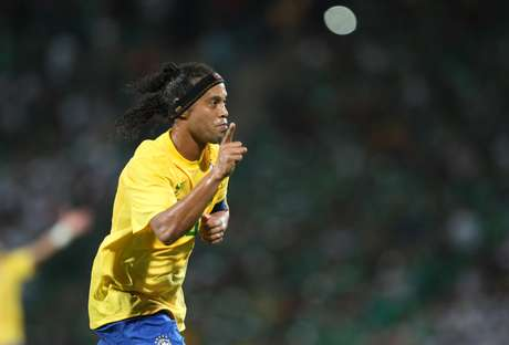 Meia do Atlético-MG,Ronaldinho foi convocado por Luiz Felipe Scolari