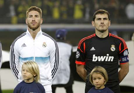Iker Casillas and Sergio Ramos will miss the first 'Clasico' of 2013
