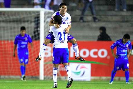 Al 88', Matías Alustiza consiguió su tercera anotación y Puebla se impuso 4-1 a Celaya en territorio guanajuatense, por lo que el global terminó 8-1 a favor de La Franja.