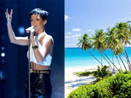 Situada no limite entre o mar do Caribe e o Atlântico, Barbados - terra natal da cantora Rihanna - tem 430 km² de praias, além de uma agitada vida noturna