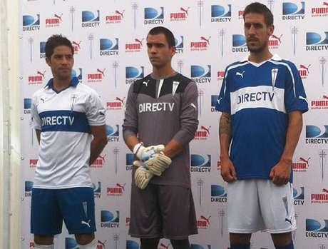 El uniforme de esta temporada fue presentado en San Carlos de Apoquindo.
