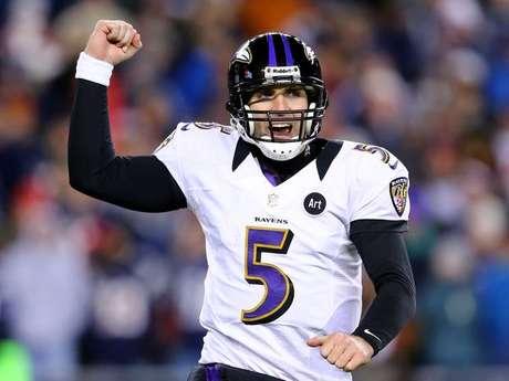 El mariscal Joe Flacco espera ganar si primer anillo de Super Bowl.