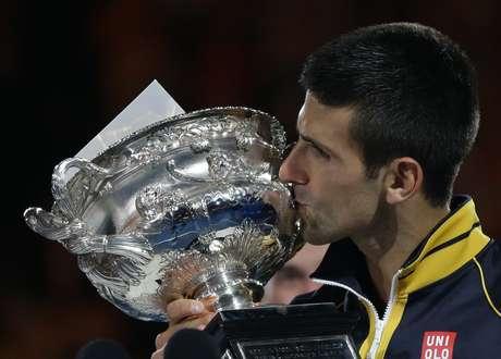 El tenista serbio ya hizo historia en el Abierto de Australia.