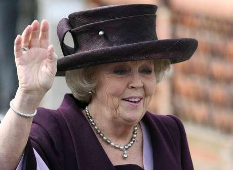 Imagen de archivo de la reina Beatriz de Holanda