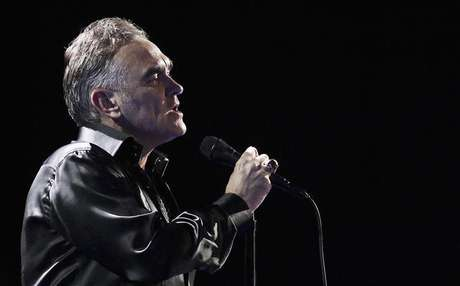 British singer-songwriter Morrissey performs during the International Song Festival in Vina del Mar city, about 121 km (75 miles) northwest of Santiago, in this file photo taken February 24, 2012.