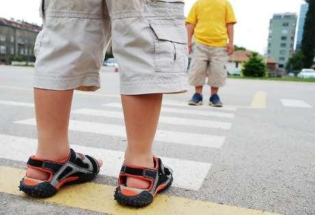 Mortes por atropelamento batem a marca de 1,2 mil ao ano entre crianças de quatro a 14 anos