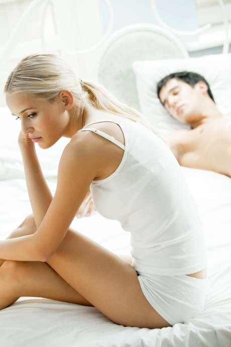 Cerca de60% dos entrevistadis disseram a suas parceiras que estavam cansados demais e, quase metade, que não estava no clima