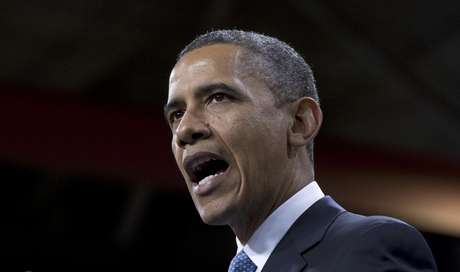 En esta foto del martes 29 de enero de 2013, el presidente Barack Obama habla sobre la reforma de la ley de inmigración en una escuela en Las Vegas. El miércoles 30, Obama confió en que las relaciones entre Estados Unidos y Cuba pueden progresar en los próximos cuatro años