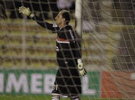 <p>Rogério Ceni tem 74 jogos de Libertadores e foi campeão como titular, em 2005</p>